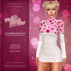 December Group Gift :: Pink Cream Pie