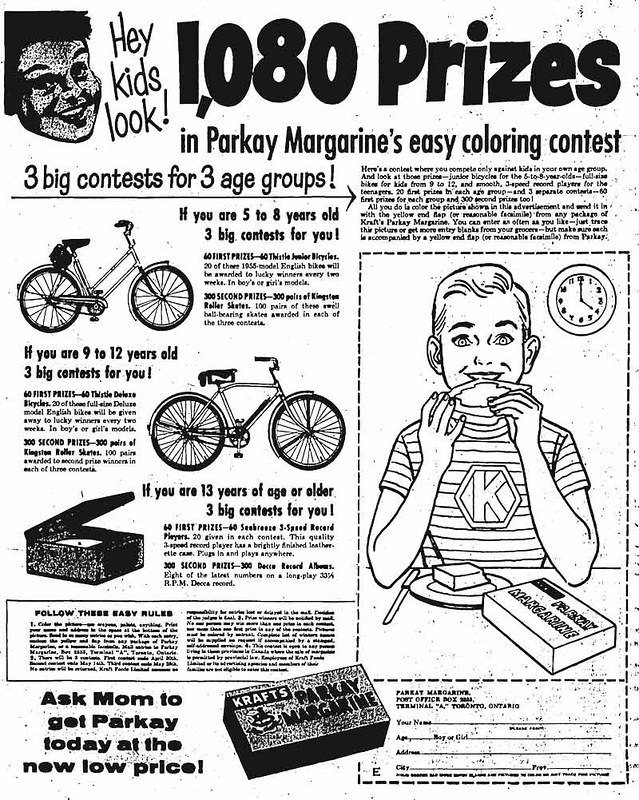 Parkay Colouring Contest