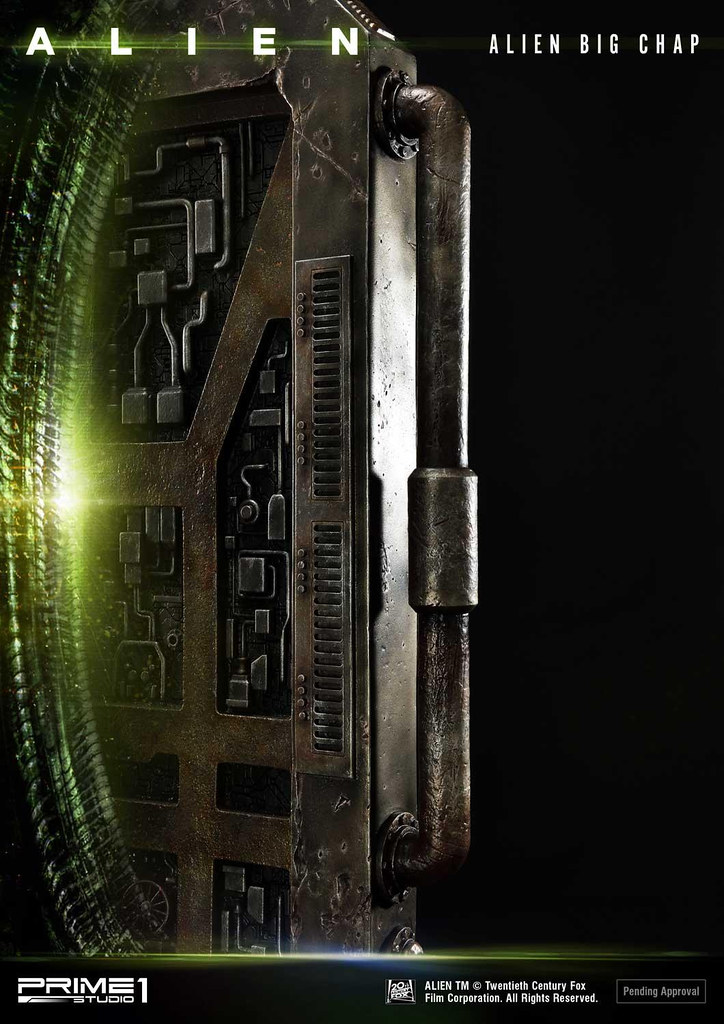 "Prime 1 Studio 3D Wall Art 系列《異形》異形 Big Chap ""Action"" エイリアン ビッグチャップ""アクション"" WAAL-05 無比例雕像/藝術裝置 普通版/DX版"