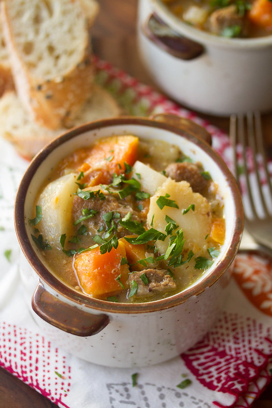 Pork and Cider Stew