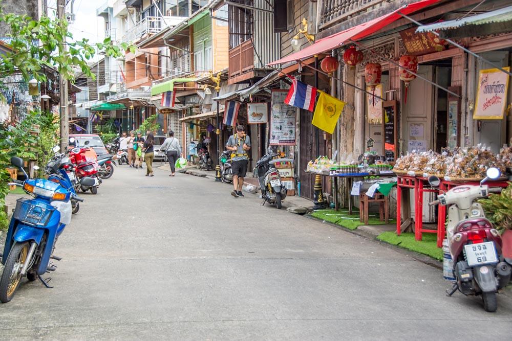 Чантхабури старый квартал