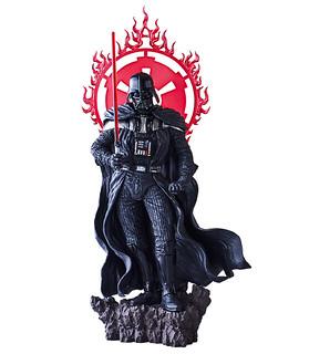 帝國恐怖將軍結合明王之忿怒威嚴! BANPRESTO《星際大戰》達斯·維德 暗黑雕像人偶 スター・ウォーズ 暗黒彫像フィギュア