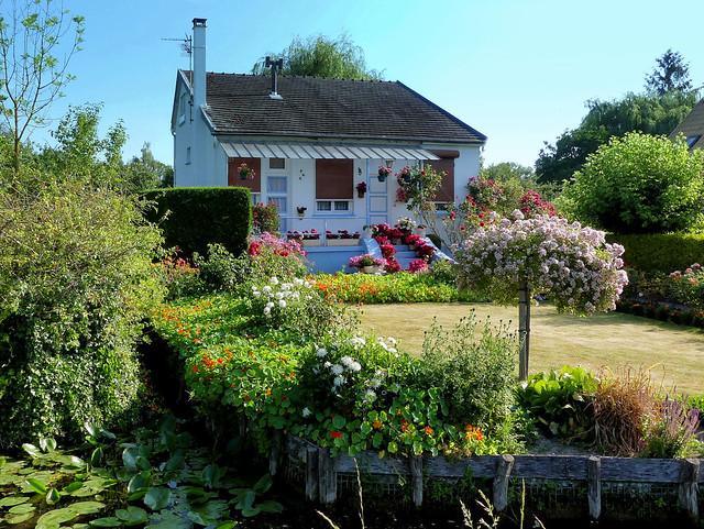 Maison et jardin des Hortillonnages