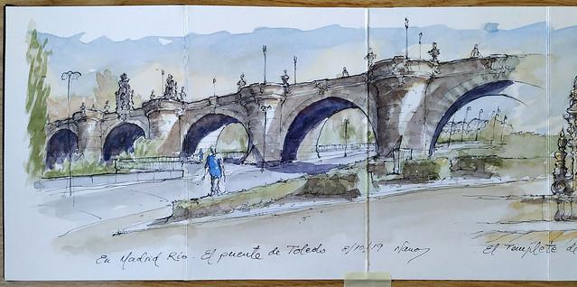 El Puente de Toledo.