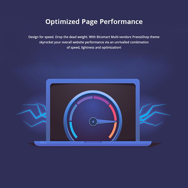 Bicomart Well-optimized SEO & Speed Marketplace PrestaShop Theme