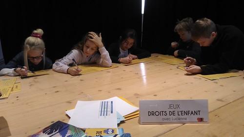 Expo Droits de l'enfants CM2A Nov 19