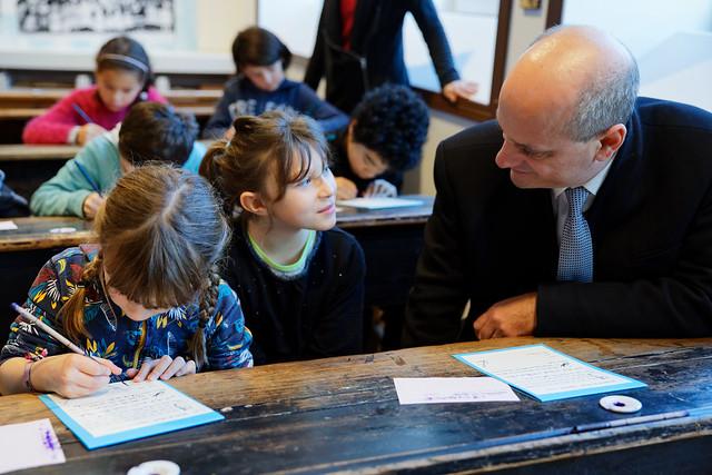Développement durable et école rurale: déplacement dans le Finistère
