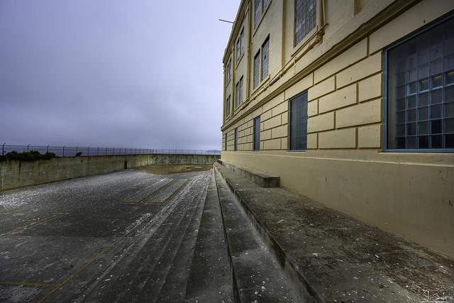 Fresh air in the prison - Alcatraz - San Francisco - California - USA