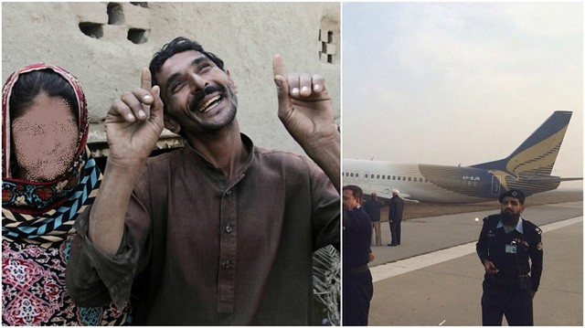 3509 A man during a flight to KSA, started missing his wife and forced emergency landing