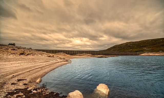 Cluanie Dam, Scotland.