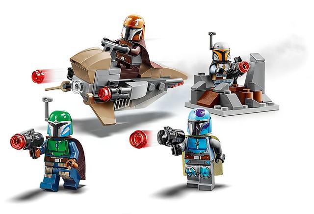 戰鬥力高強的曼達洛人部隊,徵兵開始! LEGO 75267《曼達洛人》曼達洛人(Mandalorian)Battle Pack 情報公開