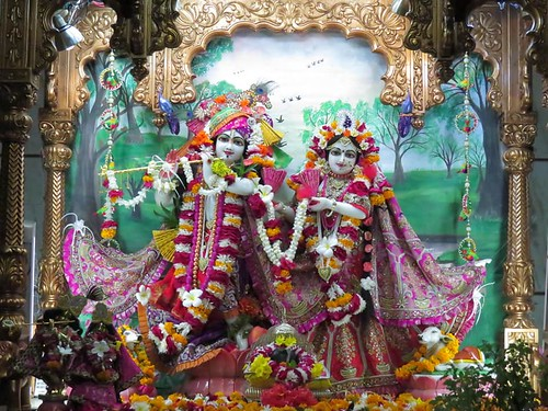 ISKCON Vallabh Vidyanagar Deity Darshan 02 Dec 2019