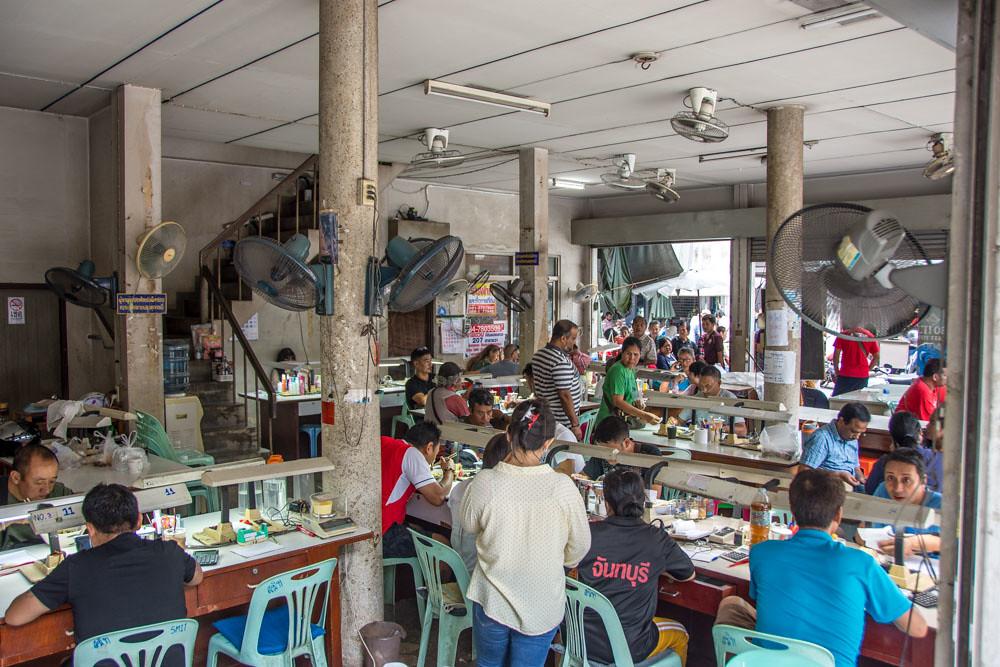 Чантхабури рынок драгоценных камней