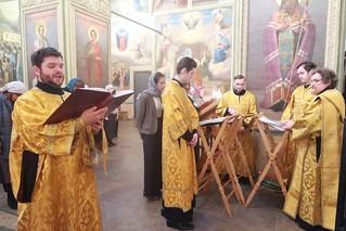 01.12.2019 | Божественная литургия в Иверском монастыре