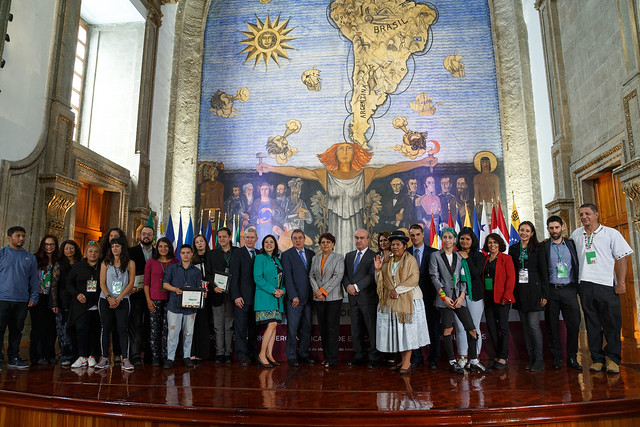 """Tercera edición del Premio Iberoamericano de Educación en Derechos Humanos """"Óscar Arnulfo Romero""""."""