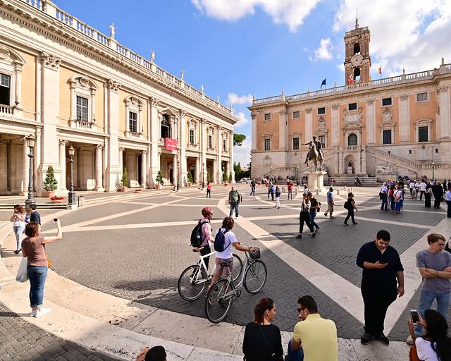 Plaza del Capitolio de Roma