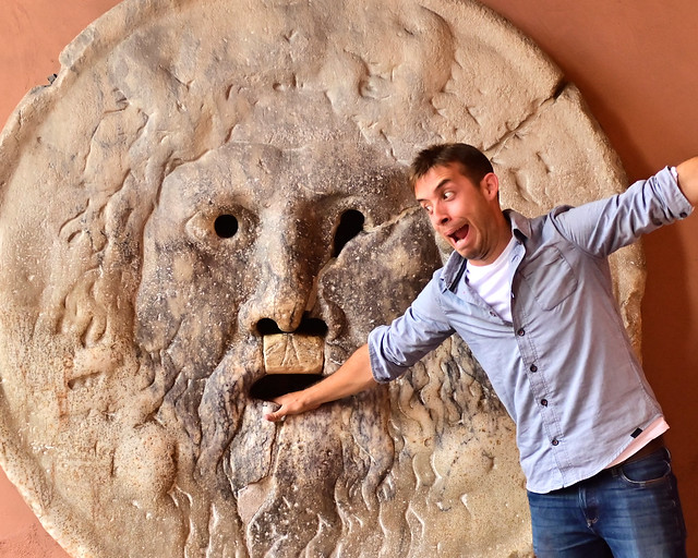 Boca de la verdad de Roma