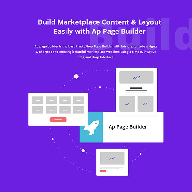 Easily Build Marketpalce website Online WITH Ap Page Builder