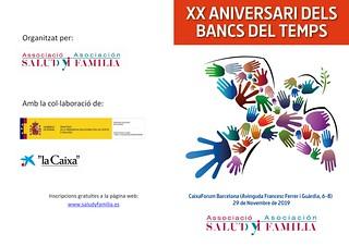 XX anys dels Bancs del Temps