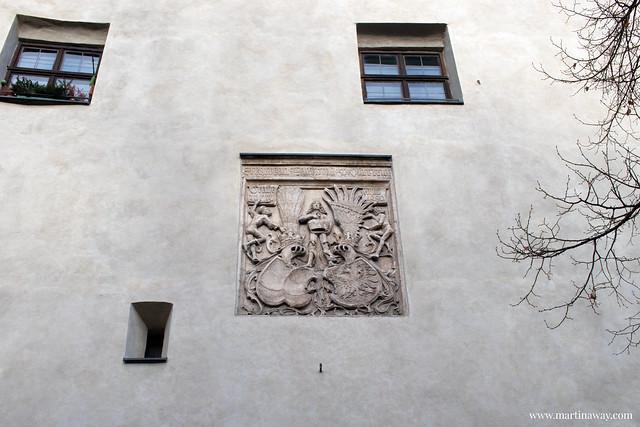 Burg Hassen, Münze Hall