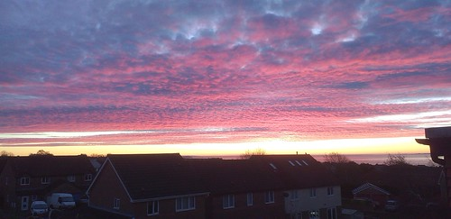 weather skyline sunrise walesuk december2019 clouds colours light scene cloudscape