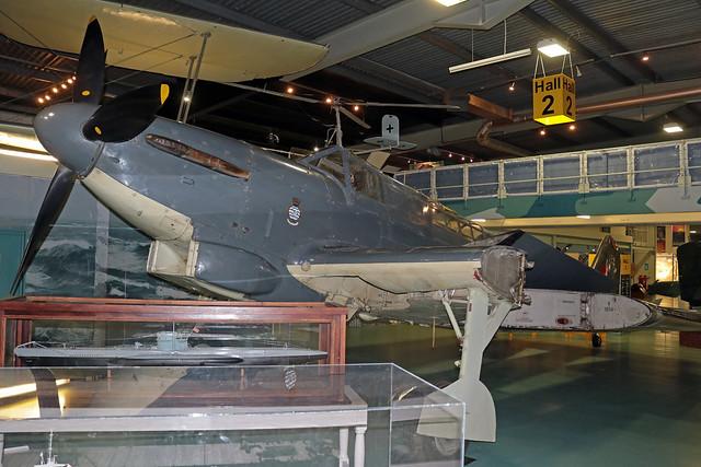 N1854 EGDY 14-11-2019 United Kingdom - Royal Navy Fairey Fulmar II CN F3707