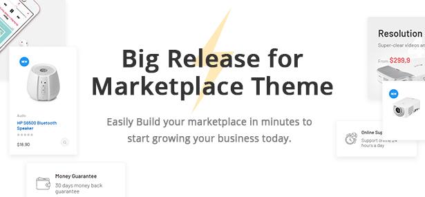 Bicomart Marketplace PrestaShop Theme