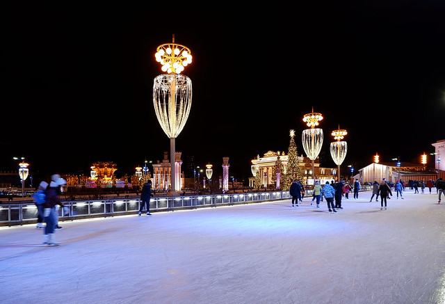 Skating rink at VDNH