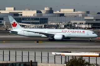 Air Canada   Boeing 787-9   C-FGDT   San Francisco International