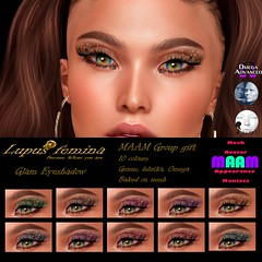 Glam eyeshadow Maam Group Gift flickr