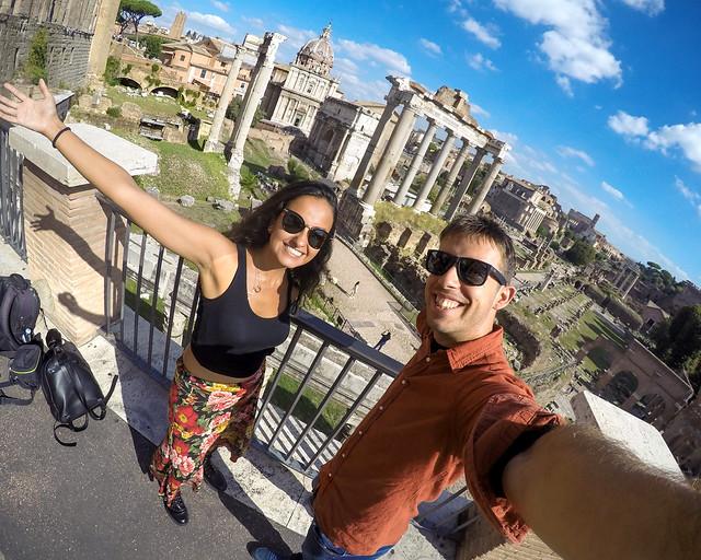 Mirador del Campidoglio a Roma