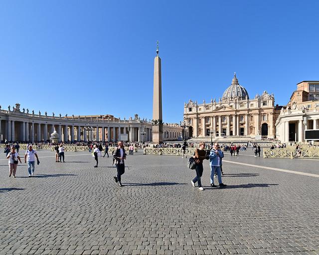 Plaza de San Pedro del Vaticano