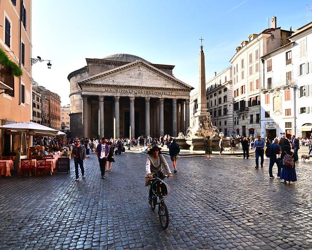 Plaza de la rotonda de Roma
