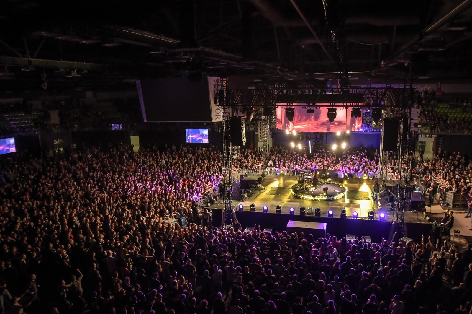 Arénaszínpados koncertet dob Szegeden a Tankcsapda