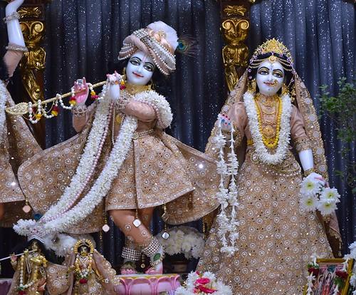 ISKCON Bangalore Deity Darshan 02 Dec 2019