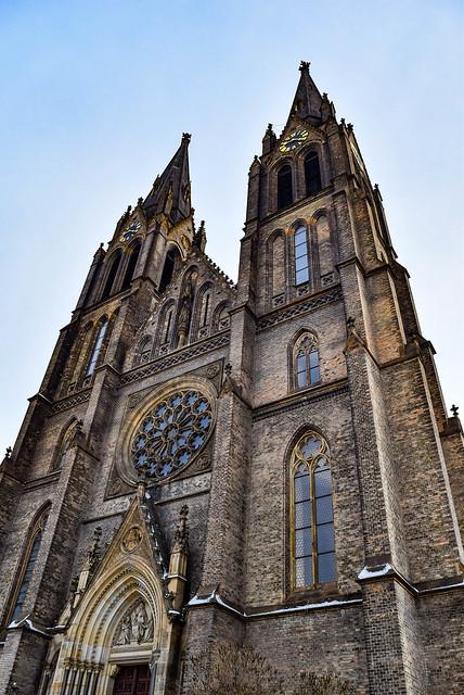 St. Ludmilla Church, Prague, Czech Republic / Kostel svaté Ludmily, Praha, Česká republika