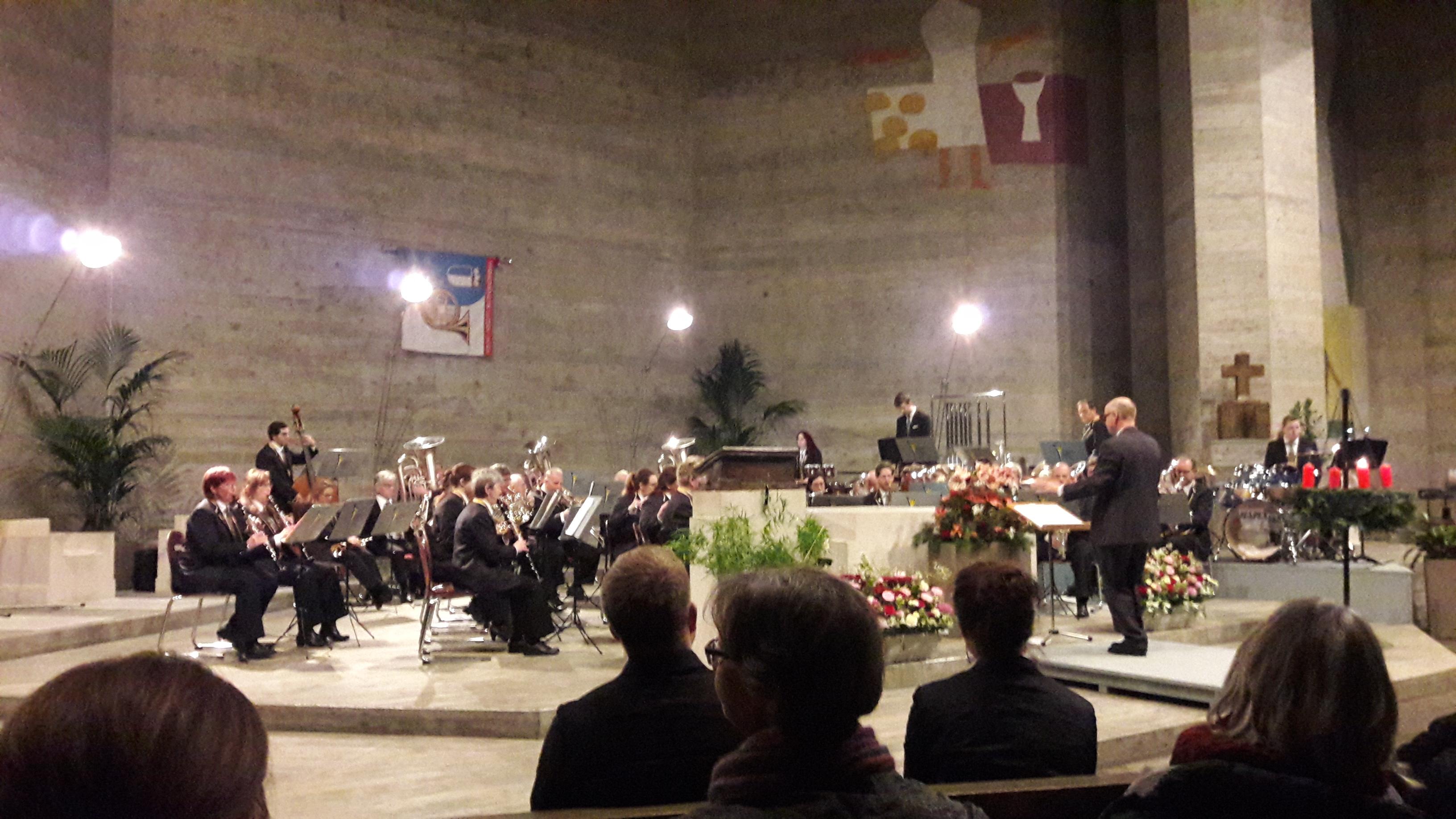 Winterkonzert in der Kirche St. Michael im Luzerner Sternmatt-Quartier (01.12.2019)