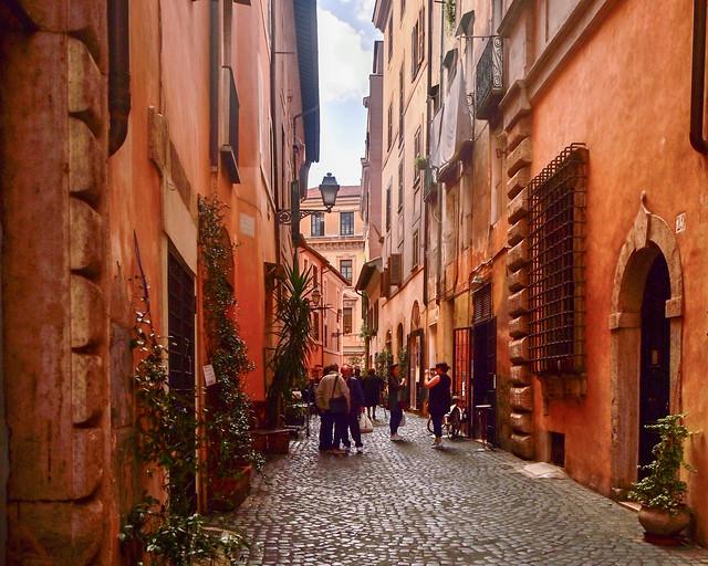 Via della Reginella en el barrio judío de Roma