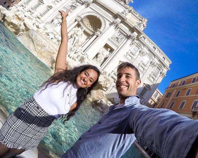 Fontana di Trevi un de los lugares que ver en Roma