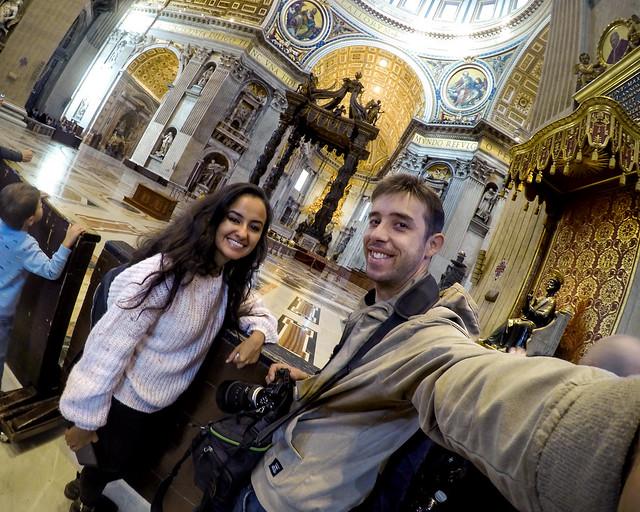 Diario de un Mentiroso en la basílica del Vaticano