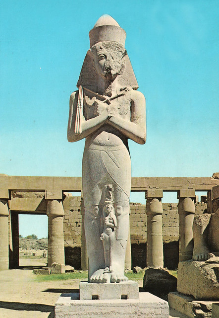 Egypt - Luxor (Pharao Pinutem and his Wife)