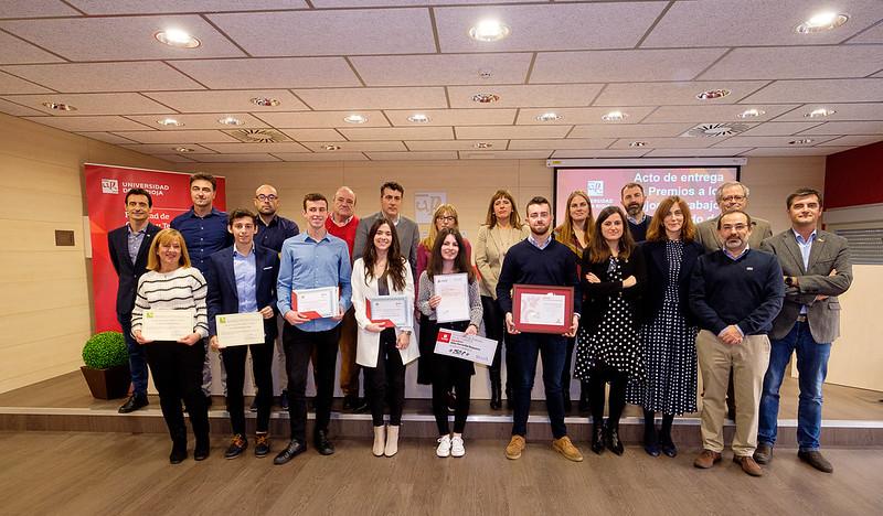 Entrega de premios Trabajos Fin de Grado Facultad de Ciencia y Tecnología