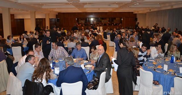Empresarios del sector y autoridades, presentes en la cena de Navidad, posterior a la Asamblea General de AESLUX.