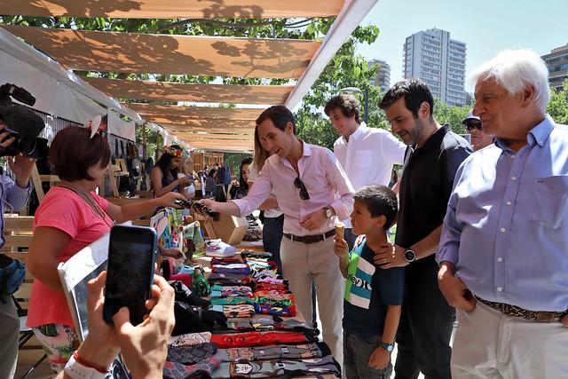 #EnTerreno : visita a Feria Elijo Pymes