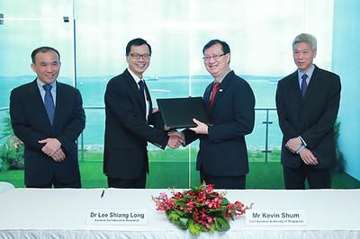 Dr Lee Shiang Long, Executive Director of I2R