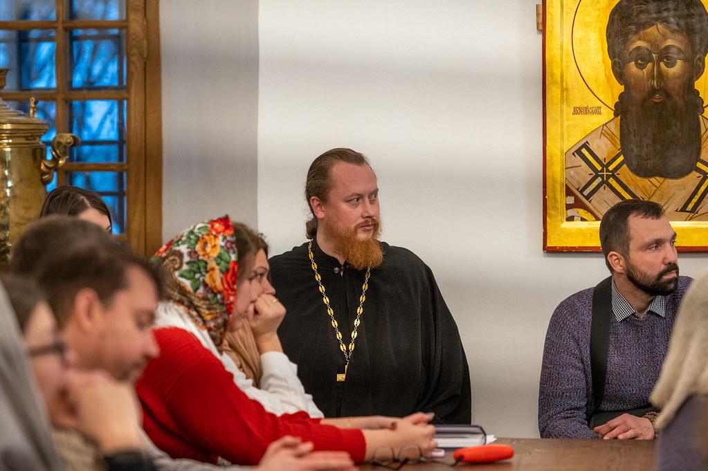 В Новоспасском монастыре прошел расширенный Молодежный совет Центрального викариатства г. Москвы
