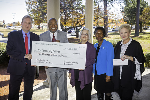 Rotary Club Donation '19 | by Pitt Community College