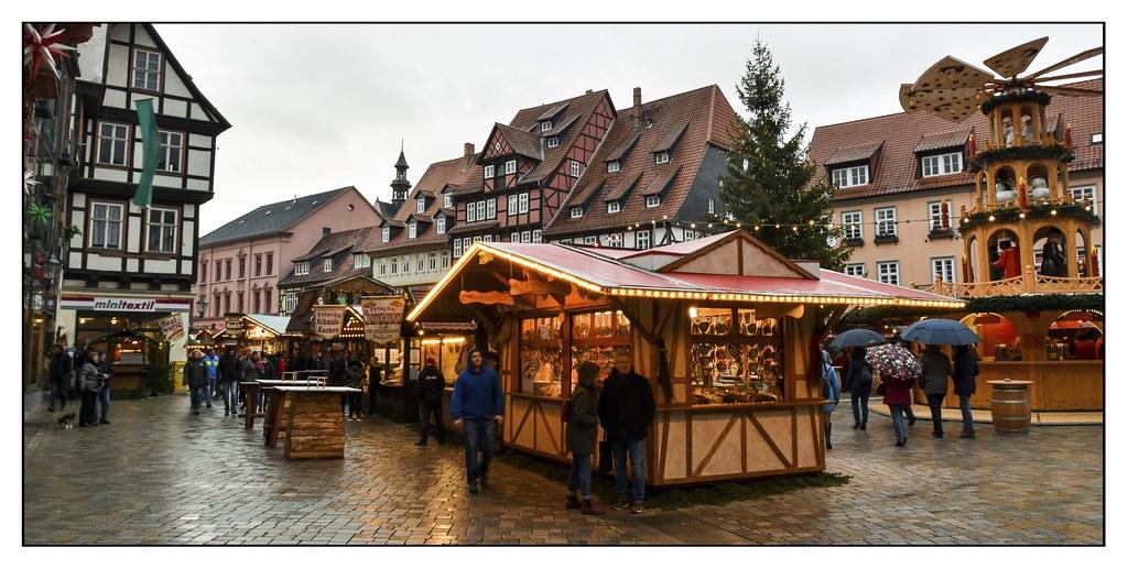 Weihnachtsmarkt im Regen...