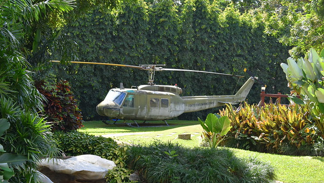 Bell UH-1D Iroquois c/n 9257 South Vietnam Air Force serial 17063 preserved as US Marines