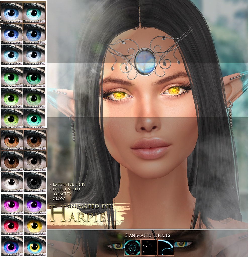 -Elemental 'Harpie' Animated Eyes @ We <3 RP